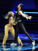 Karina Smirnoff and Maksim Chmerkovskiy perform onstage at the 61st Primetime Emmy Awards