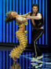 Karina Smirnoff and Maksim Chmerkovskiy perform onstage at the 61st Primetime Emmy Awards