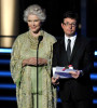 Michael J Fox and Ellen Burstyn present the Outstanding DirectingWriting for a Drama Series awards onstage at the 61st Primetime Emmy Awards