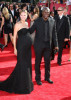 Heidi Klum and Seal arrive at the 61st Primetime Emmy Awards held at the Nokia Theatre on September 20th 2009 in Los Angeles