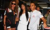 Beyonce Knowles with Nicole Scherzinger and Lewis Hamilton at the Singapore Auto Racing F1 GP event on September 26th 2009 8