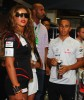 Beyonce Knowles with Lewis Hamilton at the Singapore Auto Racing F1 GP event on September 26th 2009 9
