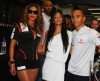 Beyonce Knowles with Nicole Scherzinger and Lewis Hamilton at the Singapore Auto Racing F1 GP event on September 26th 2009 11