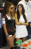 Beyonce Knowles with Nicole Scherzinger at the Singapore Auto Racing F1 GP event on September 26th 2009 3