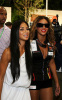 Beyonce Knowles with Nicole Scherzinger at the Singapore Auto Racing F1 GP event on September 26th 2009 2