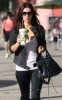 Kim Kardashian spotted walking the streets with a milkshake cup in West Hollywood on September 26th 2009 1