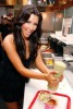 Kim Kardashian attends the Pinks Hot Dogs Grand Opening on September 18th 2009 2
