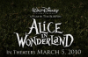 Alice in Wonderland 2010 Disney Movie logo