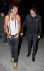 Adam Lambert arrives with his boyfriend Drake LaBry at Pink Concert on September 18th 2009 held at the Staples Centre in California