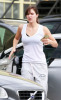 Katharine McPhee spotted out at the gym in West Hollywood for a workout on October 30th 2009 2
