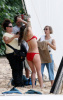 Katharine McPhee spotted filming the new movie You May Not Kiss The Bride at the beach of the Hawaiian Island of Oahu on March 16th 2009 1