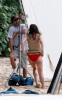 Katharine McPhee spotted filming the new movie You May Not Kiss The Bride at the beach of the Hawaiian Island of Oahu on March 16th 2009 2
