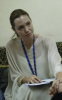 picture of UN Ambassador Angelina Jolie during her visit to Syria to check on Iraqi refugees on October 2nd 2009 6