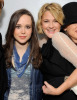 Ellen Page and Drew Barrymore attend the LA Derby at The Doll Factory on September 28th 2009 in Los Angeles California 2
