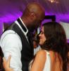 Khloe Kardashian and Lamar Odom dancing at their wedding