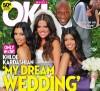 Khloe Kardashian and Lamar Odom photo during their wedding with the bridemaids Kim and Kourtney Kardashian