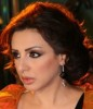 Egyptian singer angham photo from filming her latest video clip song in September 2009 9
