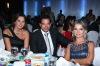 Lebanese Hostess Jomana Bu Eid photo with Lebanese Host Michel Azzi during the Jordan 2009 Award held in Amman