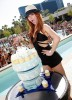 Ashlee Simpson celebrated her 25th birthday at Wet Republic at the MGM Grand Hotel and Casino in Las Vegas on October 3rd 2009 1