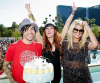 Ashlee Simpson celebrated her 25th birthday with her husband Pete Wentz and her sister Jessica Simpson at Wet Republic at the MGM Grand Hotel and Casino in Las Vegas on October 3rd 2009 4