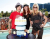 Ashlee Simpson celebrated her 25th birthday with her husband Pete Wentz and her sister Jessica Simpson at Wet Republic at the MGM Grand Hotel and Casino in Las Vegas on October 3rd 2009 3