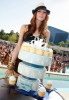 Ashlee Simpson celebrated her 25th birthday at Wet Republic at the MGM Grand Hotel and Casino in Las Vegas on October 3rd 2009 2