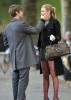 Blake Lively and Chace Crawford spotted on the filming set of Gossip Girls eating ice cream in Central Park in Midtown Manhattan on October 5th 2009 7