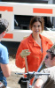 Teri Hatcher was spotted on the set of Desperate Housewives in Griffith Park in Los Angeles on October 5th 2009 7