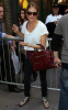 Sienna Miller was spotted leaving the American Airlines Theatre following her performance in the Broadway Play After Miss Julie on October 4th 2009 5