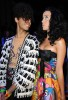 Sliimy and Katy Perry at the Castelbajac Ready To Wear fashion show during Paris Fashion Week Spring Summer 2010 collection on October 6th 2009 3