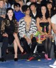 Sliimy with Katy Perry and Dita Von Teese at the Castelbajac Ready To Wear fashion show during Paris Fashion Week Spring Summer 2010 collection on October 6th 2009