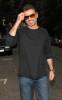 George Michael arrives for David Walliams combined house warming and 35th birthday party 2