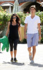 Kourtney Kardashian spotted walking with her boyfriend Scott Discick after having breakfast at Marmalade Cafe in Calabasas Los Angeles on September 24th 2009 2