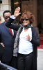 Whitney Houston was spotted leaving her hotel in Paris France on October 6th 2009 3