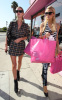 Paris and Nicky Hilton spotted shopping at the Trashy Lingerie boutique in Hollywood on October 6th 2009 2