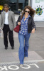 Penelope Cruz arrives at Heathrow Airport from Madrid in London England on September 28th 2009 5