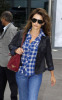 Penelope Cruz arrives at Heathrow Airport from Madrid in London England on September 28th 2009 6