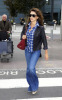 Penelope Cruz arrives at Heathrow Airport from Madrid in London England on September 28th 2009 4