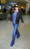 Penelope Cruz arrives at Heathrow Airport from Madrid in London England on September 28th 2009 2