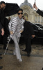 Prince attends the Chanel Ready to Wear fashion show for spring summer 2010 in Paris on October 6th 2009 4