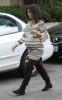 Kourtney Kardashian spotted shopping for new baby furniture at Bel Bambini boutique in Beverly Hills on October 7th 2009 8