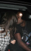 Khloe Kardashian and her husband Lamar Odom spotted kissing as she arrives at Los Angeles International Airport in Los Angeles California on October 6th 2009 1