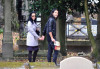 Katy Perry and Russell Brand spotted visiting Jim Morrison grave at Pere Lachaise cemetery on October 7th 2009 1