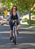 Haylie Duff picture as she goes for a bike ride around the Toluca Lake neighborhood on October 8th 2009 1