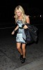 Ashley Tisdale spotted arriving at the STK restaurant in Los Angeles on the night of October 8th 2009 2
