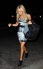 Ashley Tisdale spotted arriving at the STK restaurant in Los Angeles on the night of October 8th 2009 1