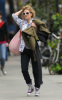 Drew Barrymore spotted walking in downtown Manhattan on October 9th 2009 2