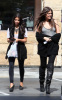 Kim Kardashian and her sister Khloe were spotted leaving a gas station in Calabasas on October 9th 2009 2