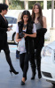 Kim Kardashian and her sister Khloe were spotted leaving a gas station in Calabasas on October 9th 2009 5