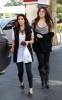 Kim Kardashian and her sister Khloe were spotted leaving a gas station in Calabasas on October 9th 2009 7